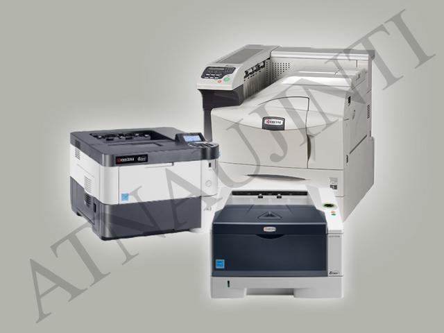 Naudoti (atnaujinti) spausdintuvai