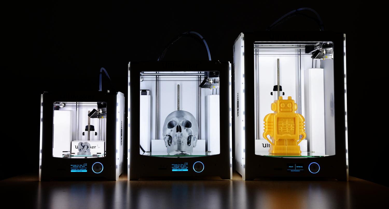 Ultimaker 3D spausdintuvai
