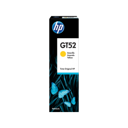 HP GT52 geltono rašalo buteliukas
