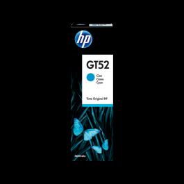 HP GT52 mėlyno rašalo buteliukas